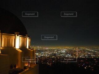 ロサンゼルスの夜景の写真・画像素材[4082108]
