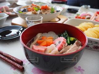 食べ物,冬,家庭料理,おうちごはん,野菜,おせち,正月,たくさん,料理,お正月,手づくり,元旦,お雑煮,手作り,雑煮,ニンジン,happy new year,にしめ,おにしめ