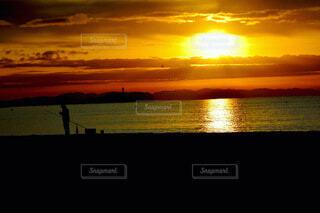 風景,海,朝日,ビーチ,雲,夕暮れ,正月,お正月,日の出,新年,初日の出,設定