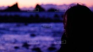 空,朝日,正月,お正月,日の出,新年,初日の出,真鶴,人間の顔