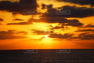 空,朝日,日の出