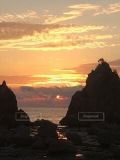 自然,太陽,朝日,日の出