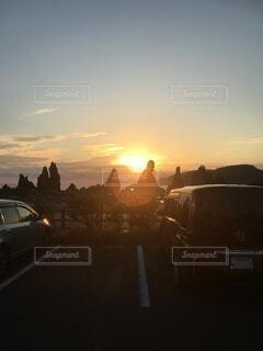 空,屋外,太陽,朝日,雲,日の出