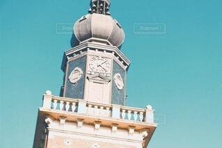 空,建物,屋外,時計,タワー,教会