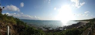 眩しいビーチの写真・画像素材[4095896]