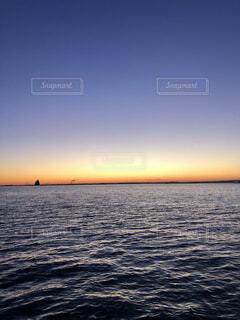 海,空,朝日,夕暮れ,水面,正月,お正月,日の出,新年,初日の出