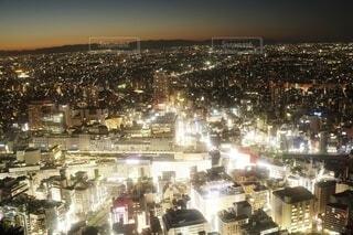 東京 池袋 高層ビルからの夕暮れの写真・画像素材[4091353]