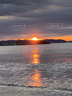 朝日,正月,お正月,江ノ島,日の出,新年,初日の出