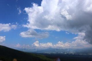 風景,空,屋外,雲,山,くもり