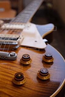 ギターのアップ写真の写真・画像素材[4111178]
