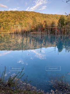 大きな水域の写真・画像素材[4112616]