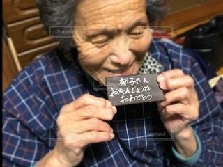 happy birthday.の写真・画像素材[4117617]