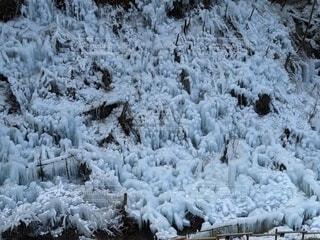 自然,冬,雪,屋外,冷たい,覆う