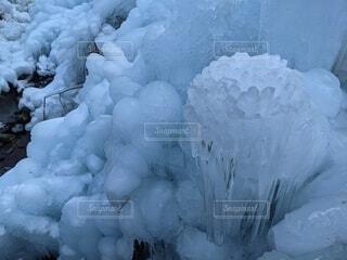 自然,冬,雪,屋外,氷,冷たい,冷凍,覆う
