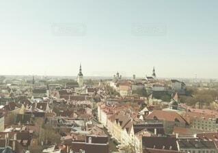 エストニア、タリンの旧市街の写真・画像素材[4115035]
