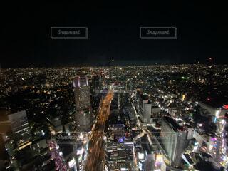 空,建物,夜,夜景,タワー,都会,高層ビル,明るい,ダウンタウン