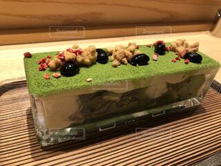 食べ物,スイーツ,ケーキ,屋内,緑,抹茶,デザート,美味しい,誕生日ケーキ,菓子