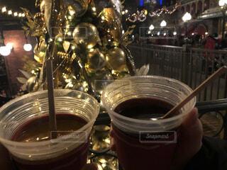 クリスマスのホットワインの写真・画像素材[4147773]