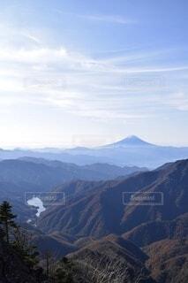 自然,風景,空,富士山,雪,屋外,雲,青,展望,霧,山,景色,登山,ハイキング,パノラマ,山脈,谷,景観,峡谷,山腹,山塊