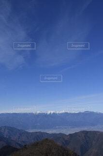 自然,風景,空,雪,屋外,雲,綺麗,青,展望,山,景色,山梨県,南アルプス,山脈,景観,眺め,山塊