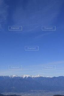 自然,空,雪,屋外,雲,綺麗,青,展望,山,景色,山梨県,南アルプス,山脈,景観,眺め,山塊