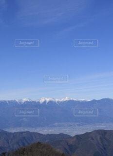 自然,空,雪,屋外,雲,綺麗,青,展望,山,景色,山梨県,南アルプス,景観,眺め