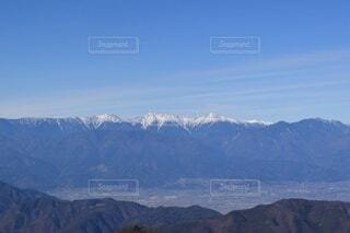 自然,風景,空,雪,屋外,雲,綺麗,青,展望,山,景色,山梨県,南アルプス,山脈,谷,景観,眺め,峡谷,山塊