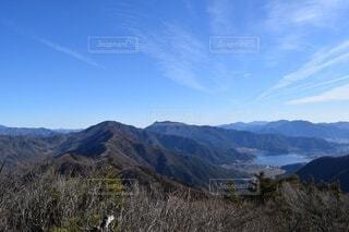 自然,風景,空,屋外,雲,展望,山,景色,草,丘,樹木,山梨県,山脈,景観,眺め,山塊