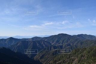 自然,風景,空,森林,屋外,雲,綺麗,山,景色,山梨県,山脈,景観,山塊