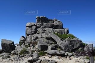 五丈岩の写真・画像素材[4116594]