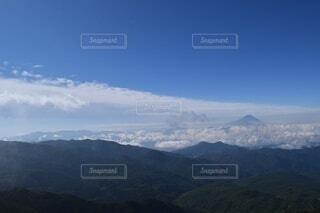 自然,風景,空,富士山,森林,雪,屋外,雲,綺麗,山,景色,山脈,景観,眺め