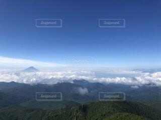 自然,空,富士山,森林,雪,屋外,雲,綺麗,霧,山,景色,丘,高原,山脈,景観,眺め,山塊