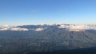 自然,風景,空,森林,雪,屋外,山,景色,高原,南アルプス,山脈,谷,景観,眺め,峡谷