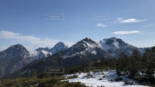 自然,風景,空,森林,雪,屋外,雲,雪山,山,景色,樹木,高原,山脈,景観,眺め,八ヶ岳,山塊