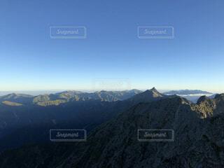 自然,空,森林,雪,屋外,山,景色,丘,高原,北アルプス,景観,落葉,眺め,山腹,バック グラウンド,山塊