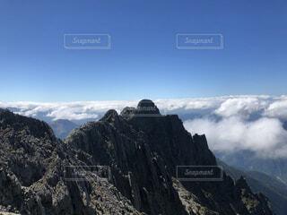 自然,風景,空,森林,雪,屋外,雲,山,景色,丘,雲海,高原,サミット,山脈,北アルプス,斜面,景観,落葉,眺め,覆う,山腹,リッジ,山塊