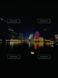 横浜の夜景の写真・画像素材[4117036]