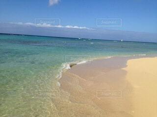 自然,風景,海,空,屋外,砂,ビーチ,雲,青,砂浜,水面,海岸,癒し,浜辺,beach,快晴,波の音,癒し波