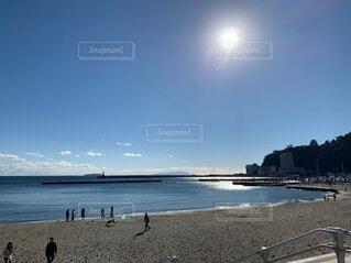 自然,風景,海,空,屋外,ビーチ,雲,砂浜,水面,海岸,日中