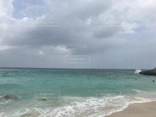 自然,海,空,屋外,ビーチ,雲,砂浜,水面,海岸,くもり,日中