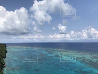 自然,海,空,屋外,ビーチ,雲,島,水面