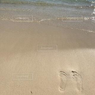 砂,ビーチ,手書き