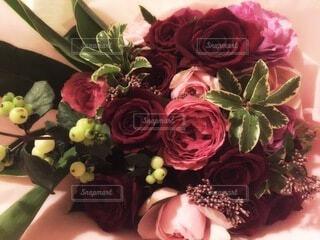 花,屋内,花束,花瓶,バラ,薔薇,草木,切り花