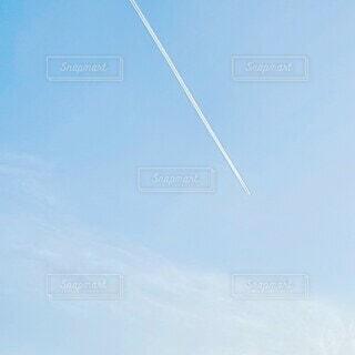 空,屋外,雲,青,飛行機,青い空,飛ぶ,ひこうき雲,景観,日中