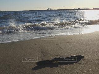 自然,海,空,屋外,砂,ビーチ,水面,海岸