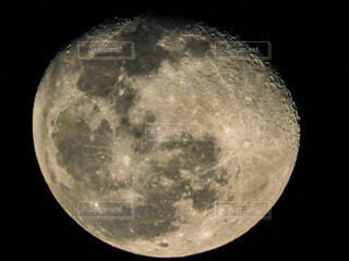 自然,黒,月,満月,クレーター,月面,天文学