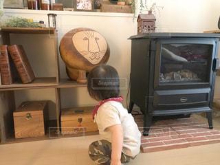 インテリア,リビング,置物,家具,オブジェ,こども,男の子,ライオン,リサラーソン