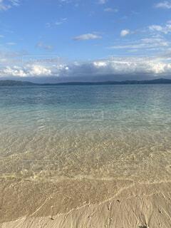 自然,風景,海,空,屋外,湖,ビーチ,雲,砂浜,水面,海岸,沖縄,日中