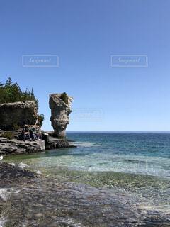 自然,風景,海,空,屋外,ビーチ,水面,岩