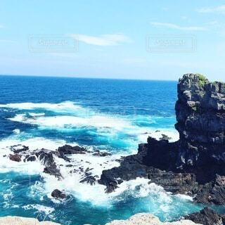 自然,風景,海,空,屋外,ビーチ,島,水面,壱岐島,海洋地形